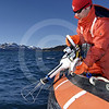 (88) Scientist deploying SCAMP in Anaktalak fjord, northern Labrador