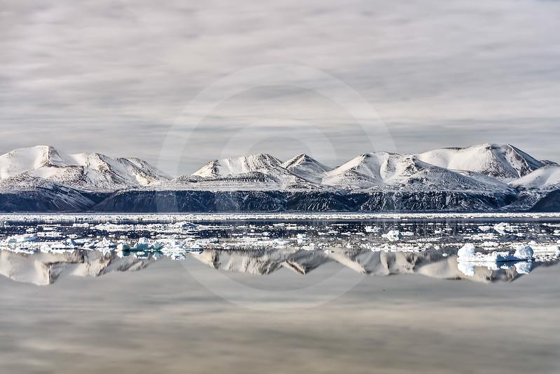 (935) Montagnes de l'île d'Ellesmere, Détroit de Nares