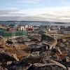 (77) Community of Salluit with CCGS Amundsen in background
