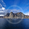 (268) Sailing in Gibbs Fjord, Baffin Island, Nunavut