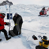 (307) Weather station installed on the Devon Ice Cap, Ellesmere Island, Nunavut