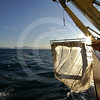 (255) ArcticNet scientists sample juvenile fish using a Rectangular Mid-Water Trawl deployed from the foredeck of the CGGS Amundsen