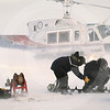 (328) Scientists sampling sea ice
