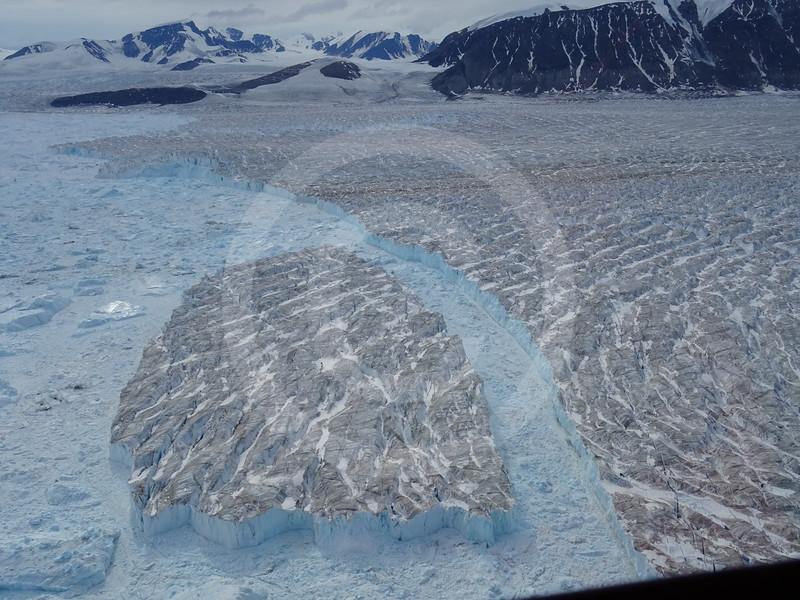 (1037) A freshly calved iceberg from Trinity Glacier, Ellesmere Island