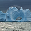 (258) Icebergs drifting pass the Carey Islands, Baffin Bay, Greenland