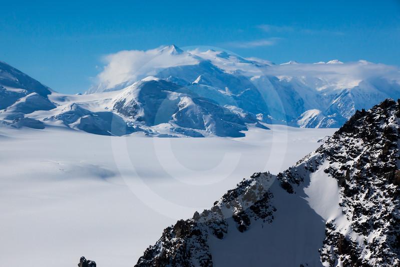 (712) Mt. Logan, St. Elias Mountain Range, Kluane National Park, Yukon
