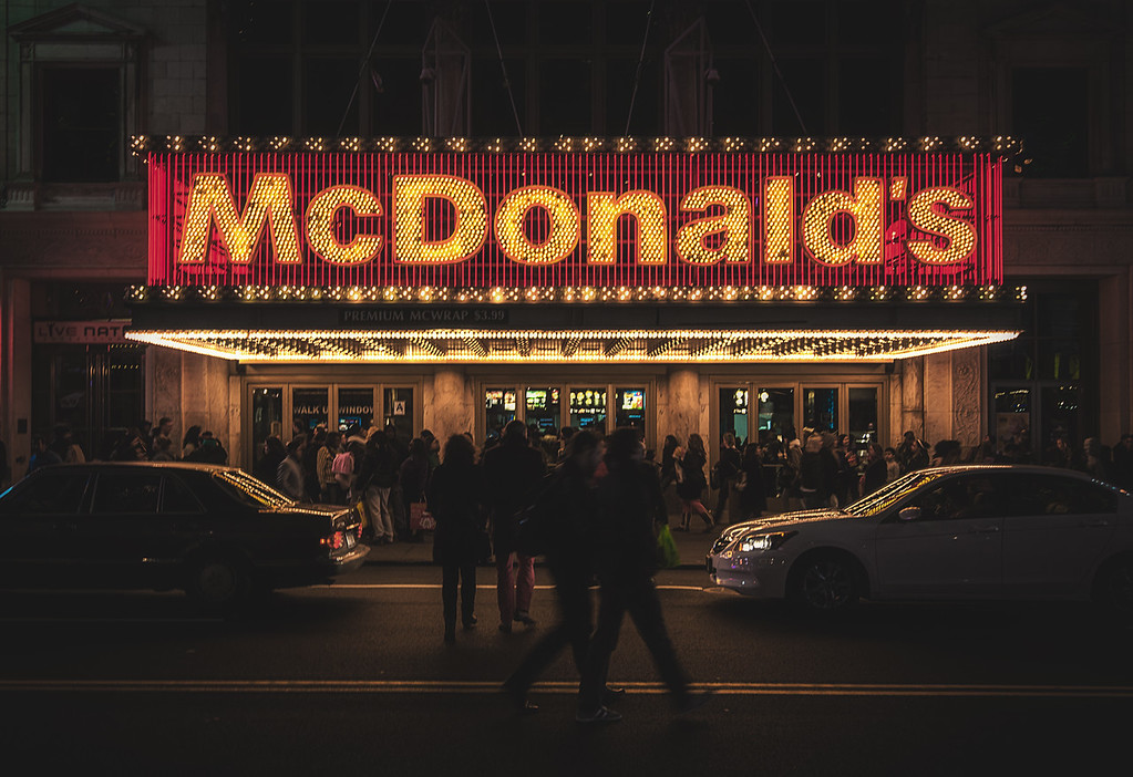 McDonald's, Theater District NYC