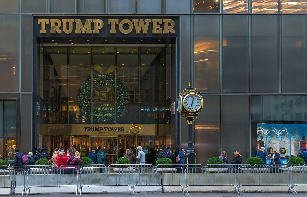 Trump Tower with Clock