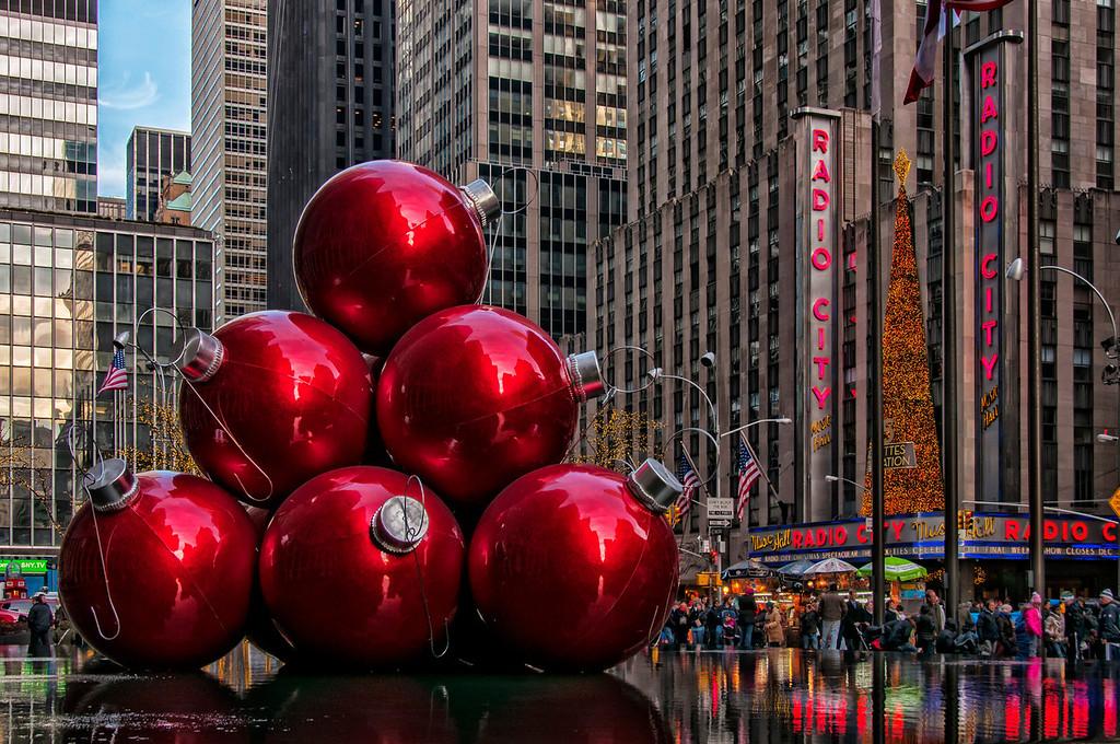 The Holidays- Rockefeller Center New York