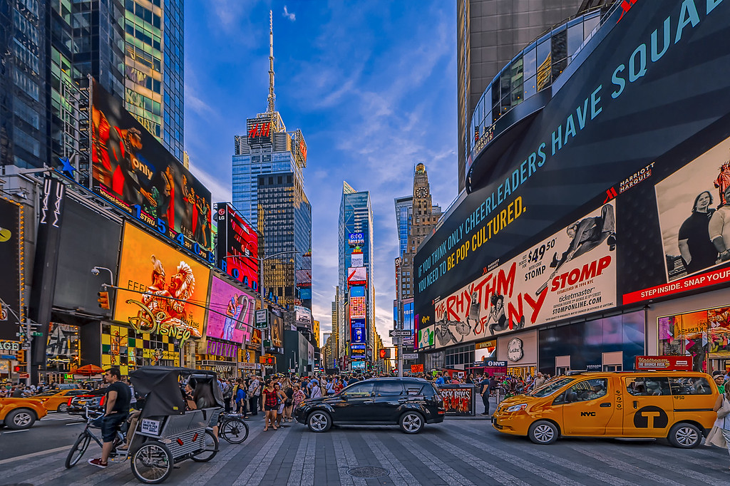 Times Square- The Ryhthm of NYC