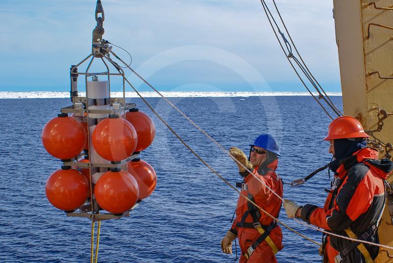 (598) Oceanographic mooring deployment