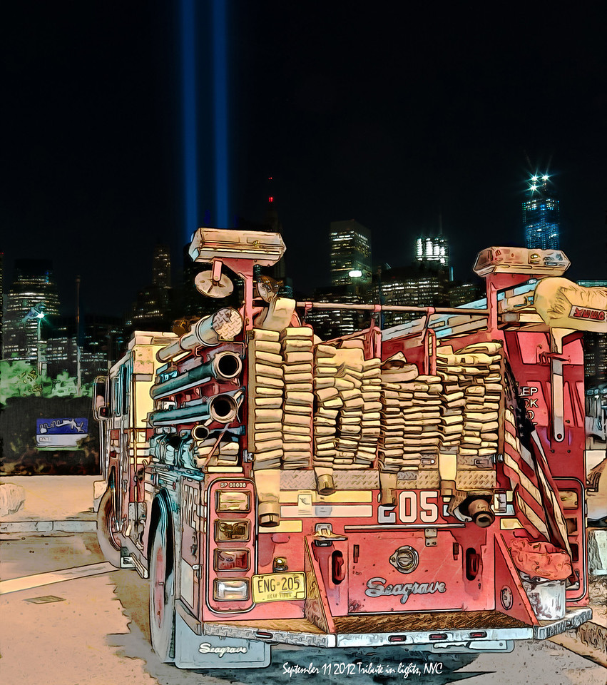 FDNY Engine 205 Sept 11 2012