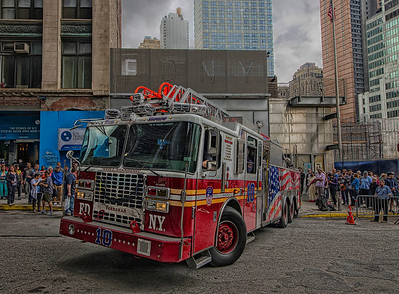 "World Trade Center ""Ground Zero"" Engine 10- 2014"