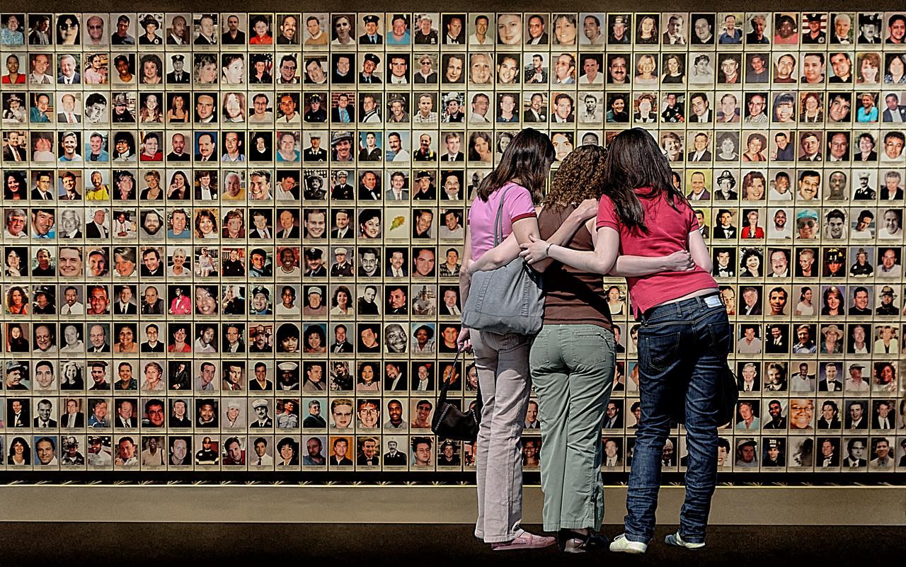 Wall Of Faces, 9/11 Memorial Museum