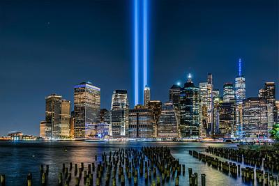 Tribute In Lights- 9/11/21 Promenade
