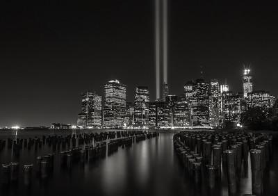 Tribute In Lights-2013  Black & White