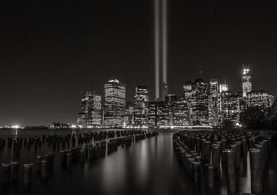 Tribute In Lights-2013  Black & White