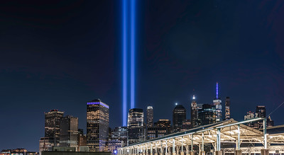 Tribute In Lights, Over the Piers. 2021 Edition