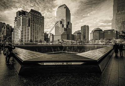 Quiet contemplation-World Trade Center, NY