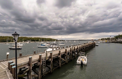 Northport Harbor Storm Front