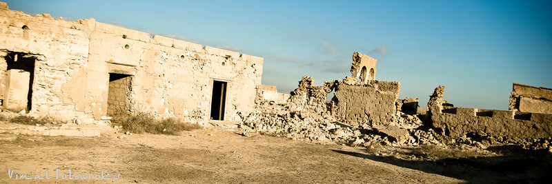 The Red Island, Haunted City, host city, Ghost town, at Ras Al Khaimah, UAE, Photography by VimalNathan Viswanathan