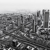Sheikh Zayed Road, Dubai, From Burj Khalifa, Photography Vimalnathan
