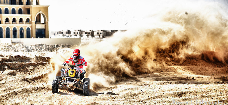 DMX Race Dubai - September 2012, Race Day 1, Quad Bike Racing, Buggy racing in Dubai, Jebel Ali, UAE, Nikon D700, Sports photography.
