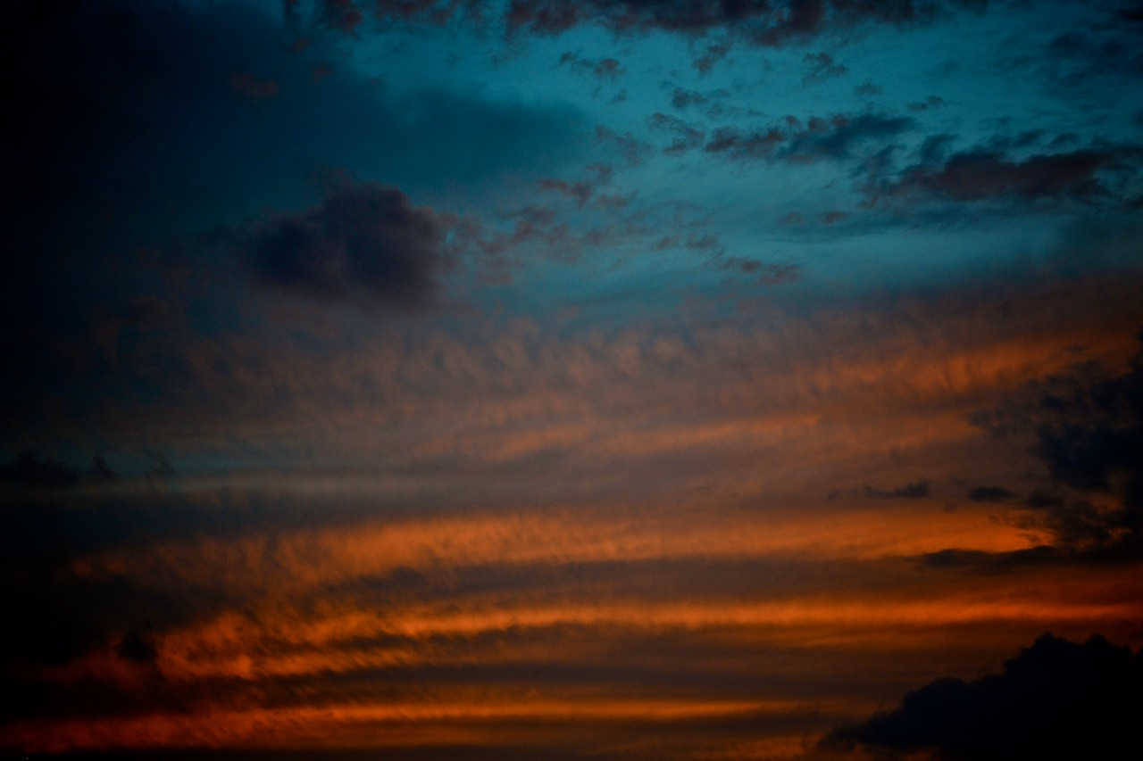 Tokyo evening sky