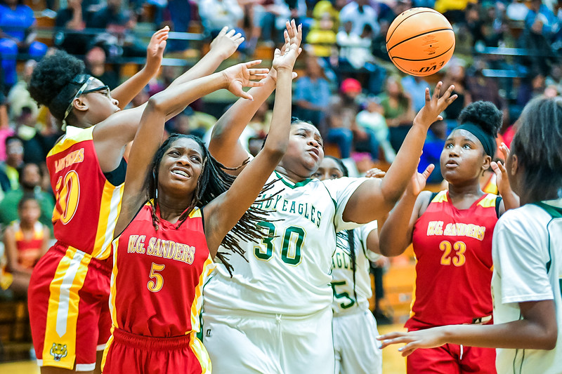 Richland One Middle School Girls Championship-9320
