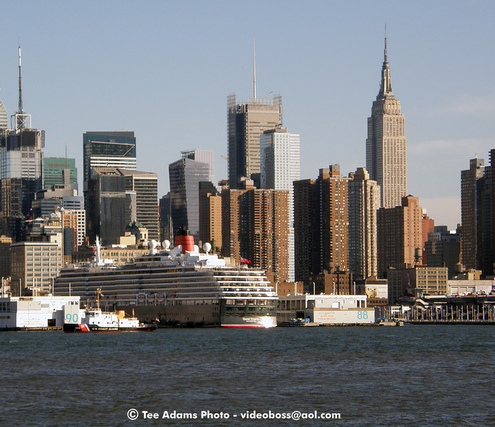 Cruise ship Victoria in NYC fall 2009.
