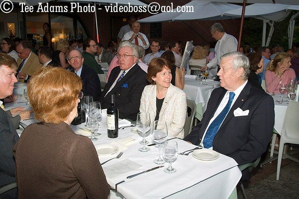 Cunard's President, Carol Marlow visited 7/24/07