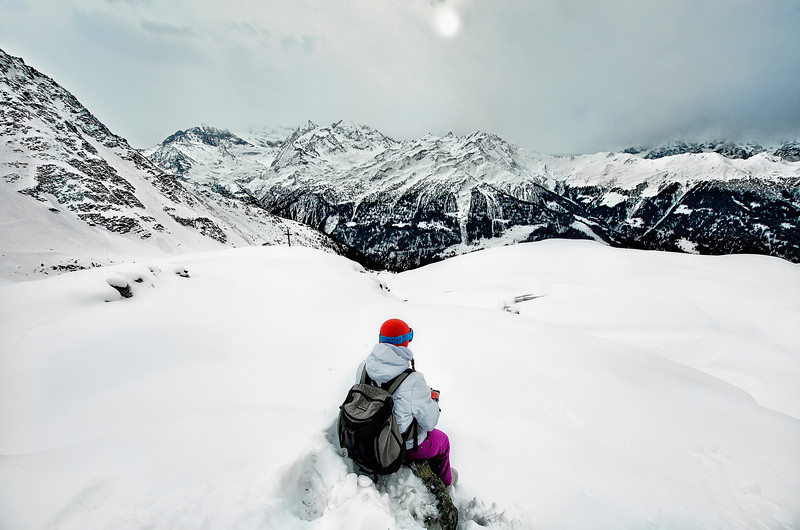 Lost in Suisse Alps
