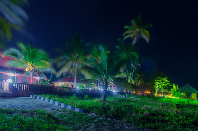 Windy night in Zanzibar