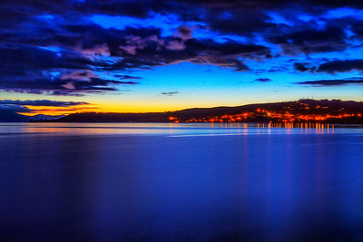 Night in Lake Taupo