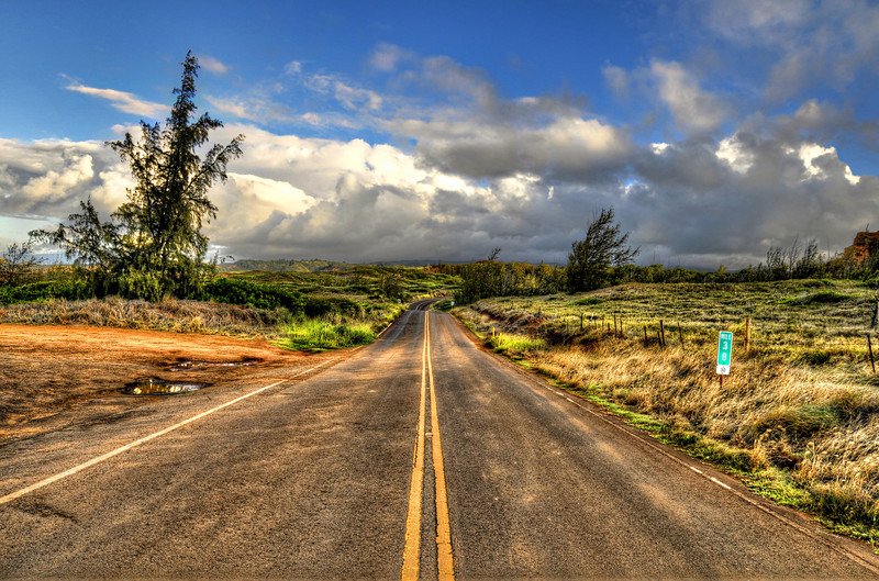 A system of state highways encircles each main island. Only Oʻahu has federal highways, and is the only area outside the contiguous 48 states to have signed Interstate highways. Travel can be slow due to narrow winding roads, and congestion in cities. Many beautiful places located far away from main roads.