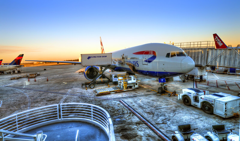 British Airways in MCO