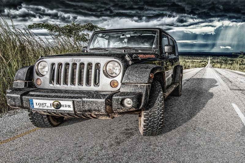 The best Jeep that Jeep doesn't build. Angola. On the way to Cape Town from Tallinn.