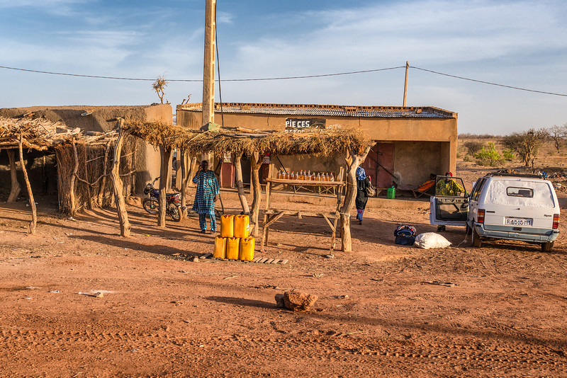 GAS station in Mauritania.