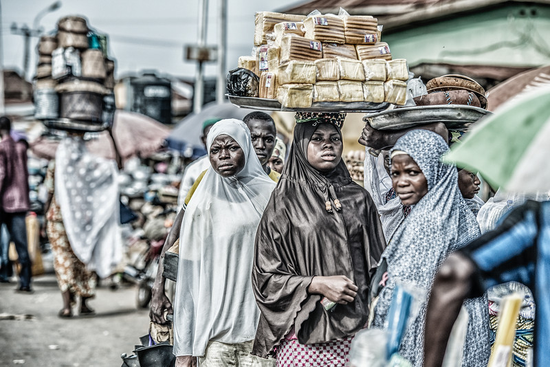 Nigeria. Abuja. Instead ask for money kids selling food on the streets.
