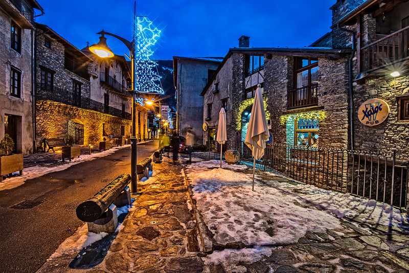 One night in Andorra
