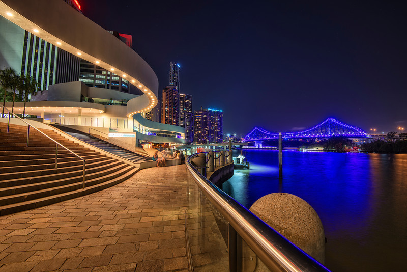 Night in Brisbane