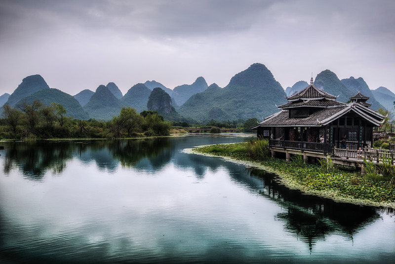 Deep inside China. Guilin.