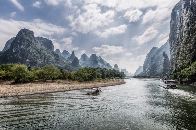 I can't believe this place exist... Deep inside China. Guilin.