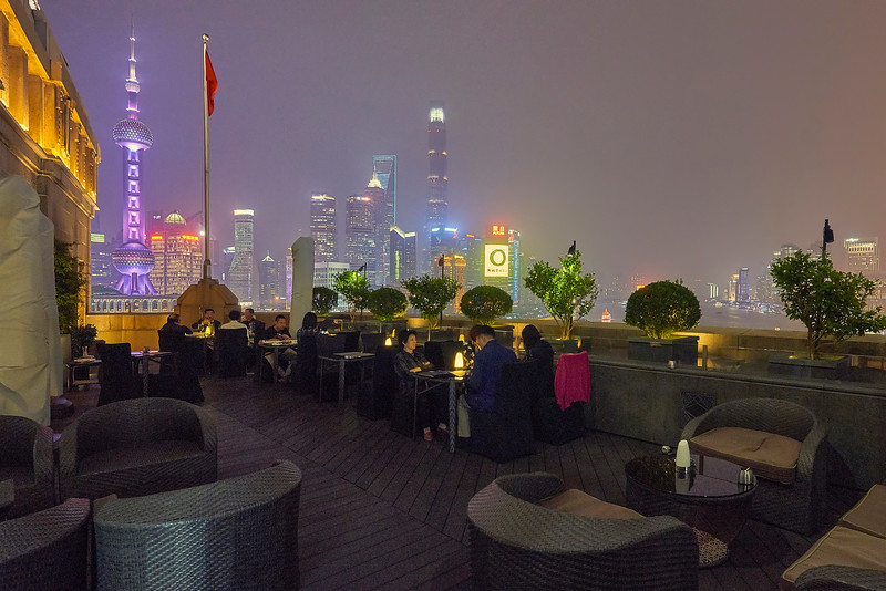 Once on the roof in Shanghai