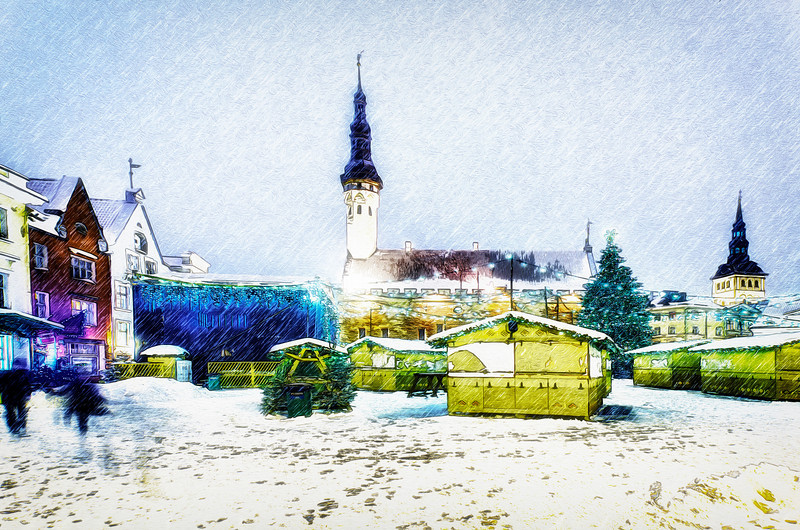 Winter's Tale, Tallinn. Christmas.