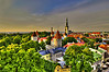 """Estonia, is a state in the Baltic region of Northern Europe. It is bordered to the north by the Gulf of Finland, to the west by the Baltic Sea, to the south by Latvia (343 km), and to the east by the Lake Peipsi and the Russian Federation (338.6 km). Estonia is a democratic parliamentary republic and is divided into 15 counties. The capital and largest city is Tallinn. With a population of 1.34 million, Estonia is one of the least-populous members of the European Union, Eurozone and NATO. Today, Estonia has the highest GDP per person among former Soviet republics. Estonia is listed as a """"High-Income Economy"""" by the World Bank, as an """"advanced economy"""" by the International Monetary Fund. The United Nations lists Estonia as a developed country with a Human Development Index of """"Very High"""". The country is also ranked highly for press freedom, economic freedom, democracy and political freedom and education. Estonia lies on the eastern shores of the Baltic Sea immediately across the Gulf of Finland from Finland on the level northwestern part of the rising east European platform between 57.3° and 59.5° N and 21.5° and 28.1° E. Average elevation reaches only 50 meters. Estonia is situated in the northern part of the temperate climate zone and in the transition zone between maritime and continental climate. Estonia has four seasons of near-equal length. Average temperatures range from 16.3 °C on the Baltic islands to 18.1 °C inland in July, the warmest month, and from −3.5 °C on the Baltic islands to −7.6 °C inland in February, the coldest month. <br /> Estonia has over 1,400 lakes. Most are very small, with the largest, Lake Peipus, (Peipsi in Estonian) being 3,555 km2."""