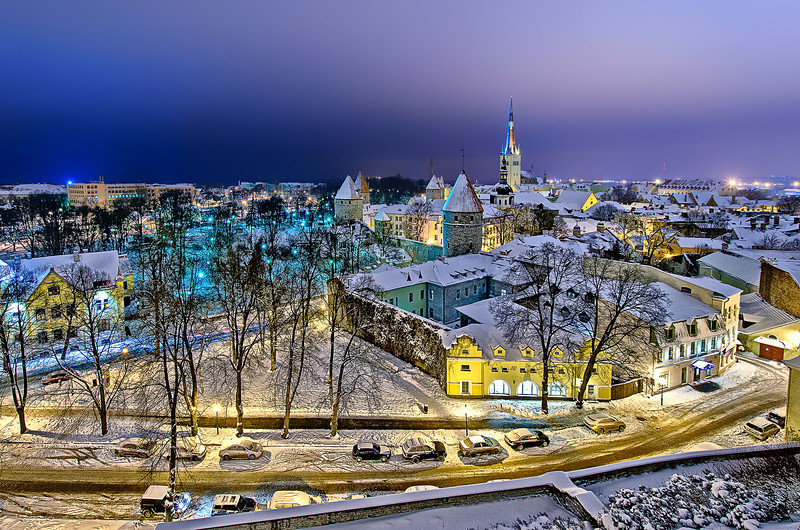 Christmas coming to Tallinn.