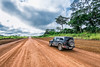 White roads of Gabon.