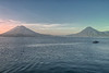 Sunset on Lake Atitlan.