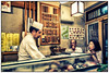 """Tokyo. Tsukijishijo. 9:00PM. Only one SUSHI place open. Jus't the bar with 12 chairs. Very friendly but not english speaking persons. Of cause. Japan. I ask for Coca Cola first. """"Coca Cola!"""" repeated Sushi master proudly… And start to laugh. Everybody start to laugh out loud. Sushi was amazing! Of cause! Japan! How i miss Tokyo!"""
